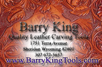 Barry King Qaulity Leather Carving Tools