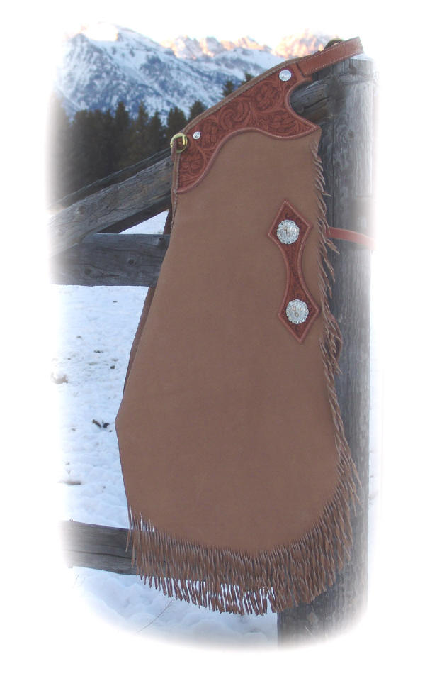 Cowboy Saddlery = Custom Chaps and Chinks by Keith Valley = Jackson Hole Wyoming